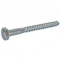 M10 x 70 Coach Screw DIN 571 BZP
