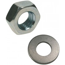 Rawl Trade Nut & Washer M8 (20pcs)