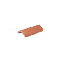 Concrete  Ridge Tile 105-135 Deg 500mm Black