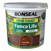Ronseal One Coat Fencelife 5L Red Cedar