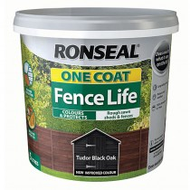 Ronseal One Coat Fencelife 5L Tudor Black