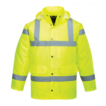 Portwest S460 Hi-Vis Traffic Jacket Yellow size Large