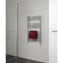 SONAS800 x 500 Curved Towel Rail - Chrome