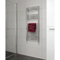 SONAS1200 x 600 Curved Towel Rail - Chrome