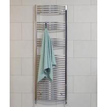SONAS1800 x 600 Curved Towel Rail - Chrome