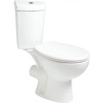 Strata Close Coupled Corner Toilet and Soft Close Seat