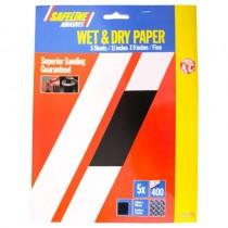 Sandpaper Sheets Wet & Dry Fine