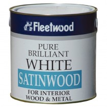 Satinwood (Oil BSD) Brilliant White 1L