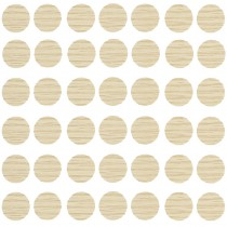 Self Adhesive Screw Caps Beige (Card100)