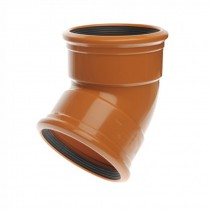 Sewer Y 45 Degree Double Socket 160mm