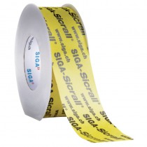 Siga Sicrall 60 Adhesive Tape 60mm x 40m Yellow