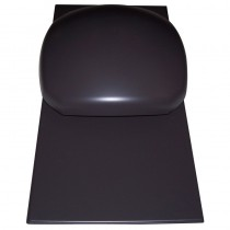 Klober Slate Vent (with Cowl)  600x300 Black.