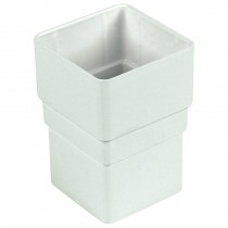 Square Socket White