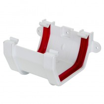 Square Union Bracket White