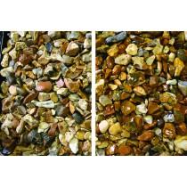 Decorative Stone 25kg - Golden Flint 14mm