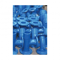 250mmx150mm EN545 All Flanged Ductile Iron Tee