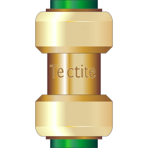 Tectite Straight Coupler 1/2""