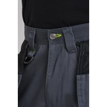 Portwest Black Work Trousers c/w free s156 Knee pads T602