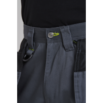 Portwest Navy Work Trousers c/w free s156 Knee pads 32L T602