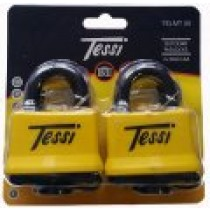 Tessi 2x50mm Thermo Covered Laminated Steel Locks KA