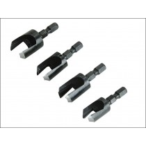 Faithfull Plug Cutter Set (4)