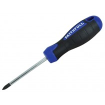 Faithfull Soft Grip Screwdriver1PZ X  75MM