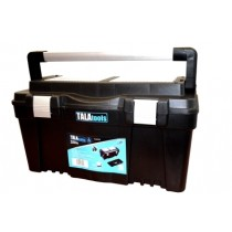 "Tala Plastic Toolbox 18"" With Metal Latches"