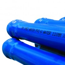 110mm PVC Watermain bend 22.25deg Socketed