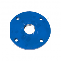 "150mm EN545-NP16 Ductile Iron Blank Flange Drilled 2"" BSP"