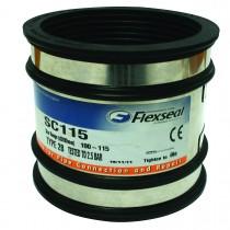 Flexseal Standard Coupling to Suit 100mm-115mm SC115