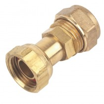 """Tri Flow Tap Connector Straight 1/2"""""""