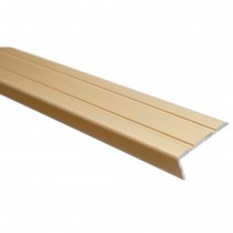Trojan Angle Edge Profile 25x8mm 900mm (Gold)
