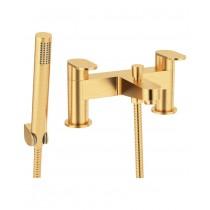 Norfolk Bath Shower Mixer Brushed Gold
