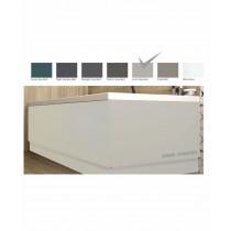 Scandinavian End Bath Panel 800mm Matt Arctic Grey