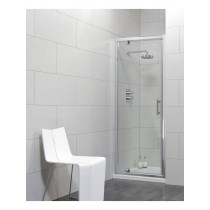 Usher City Chrome Pivot 800 Shower Door 740-790