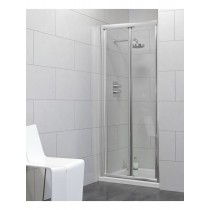 Usher City Chrome Bifold 900 Shower Door 840-890