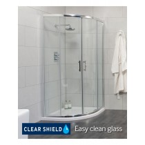 Usher City Chrome Quadrant 800 Shower Door 765-790