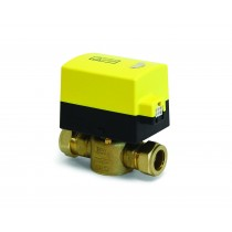 "3/4"" 2 Port Motorised Compression Valve Detach"