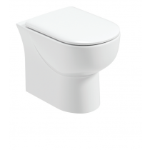Verona Back to Wall RIMLESS Toilet and Soft Close Seat