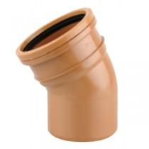 Sewer Bend 30 degreeree Single Socket 225mm