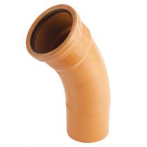 Sewer Bend 45 degreeree Long Radius 225mm