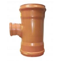 Sewer T 90 degreeree Double Socket 225x110mm