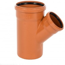 Sewer Y 45 degreeree Double Socket 315x160mm