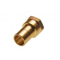Adapt-Brass Female 1iBSP x 28mm Spigot