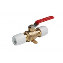 Ball Valve-Plated Brass 15mm x 15mm