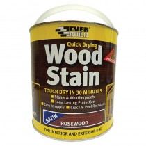 Woodstain Satin Rosewood 2.5Ltr