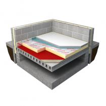 75mm Polyiso Underfloor Insulation (Sheet) 2.4m x 1.2m