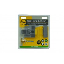 Yale Deadlocking Nightlatch  P85 Grey