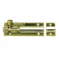 Barrel Bolt 75mm Brass