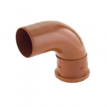 Sewer Bend 90 Degree Single Socket 160mm